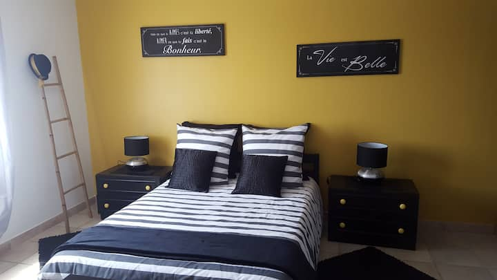 Jolie chambre dans Bastide proche centre ville