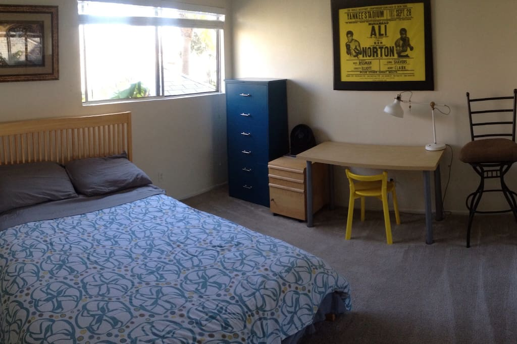 2nd Bedroom with desk