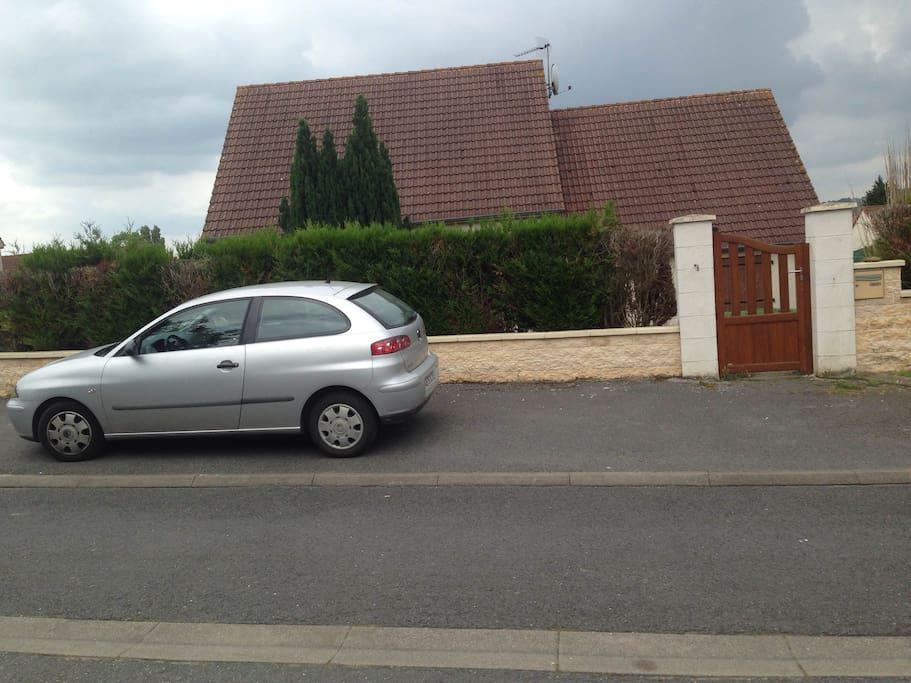 Villa où se trouve l'appartement