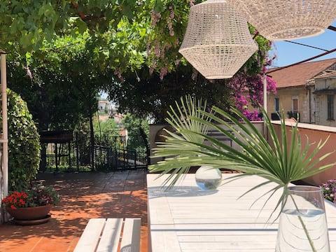 Villa Mina, terrasse pvt sur la côte amalfitaine AC/WiFi