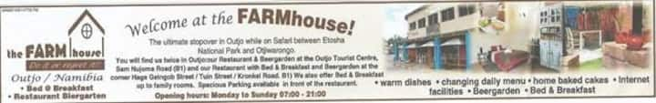 Accommodation&Camping in Namibia Outjo.