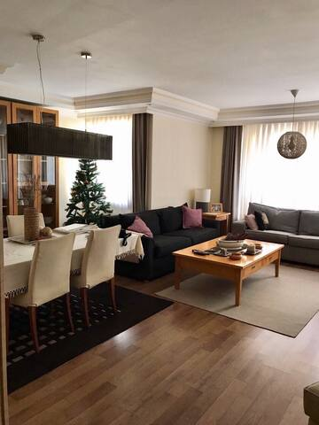 Fully furnished flat 2 bedrooms and a living room. - Antalya - Lägenhet