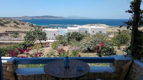 Stella's Home studio with sea view