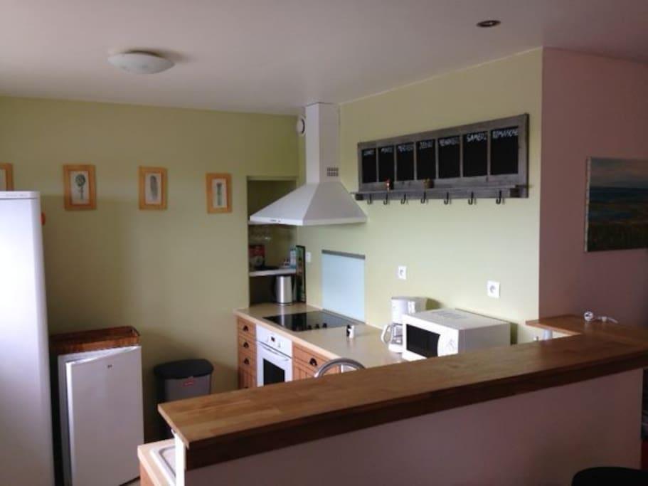 cuisine aménagée spacieuse