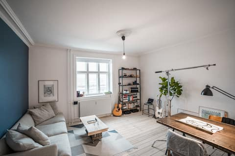 Cozy 2-bedroom apartment in the heart of Vesterbro