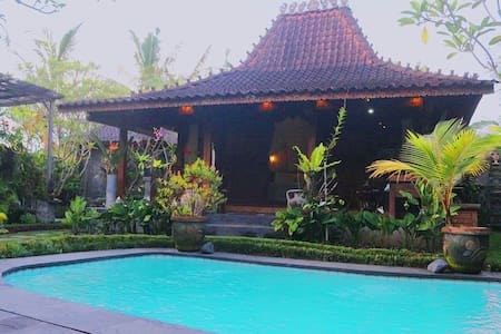 SRADHA VILLA - private pool in ubud