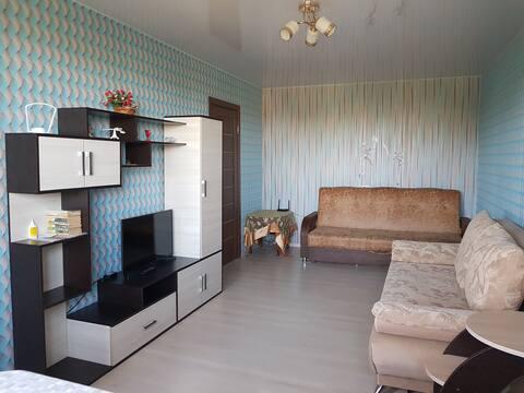 Тихая и уютная однокомнатная квартира.