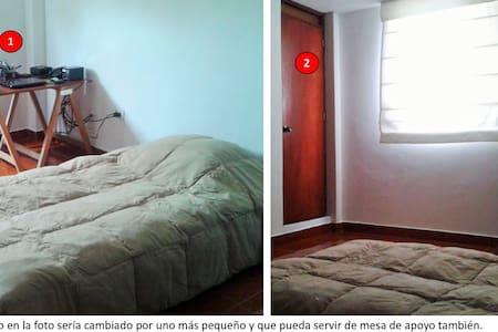 Habitación privada en céntrica zona - Apartamento