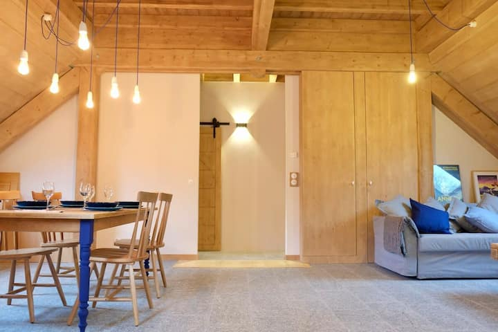L'Alpage de la Bergerie, apartment in a cosy farmhouse !