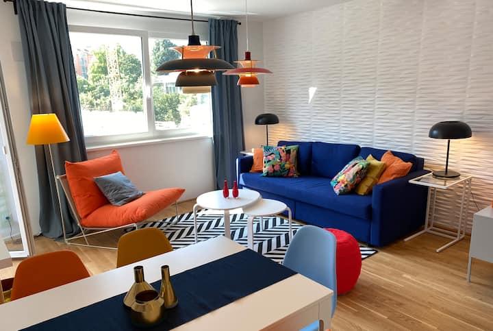 10 Min. ins Zentrum - ein cooles Apartment