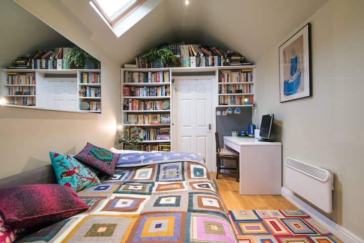 Tasteful, peaceful, cosy and cool.