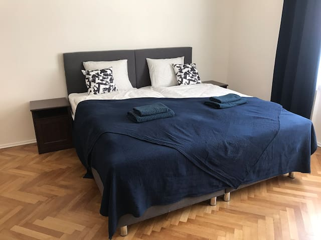 Newly renovated 3B apartment 10 mins to the center