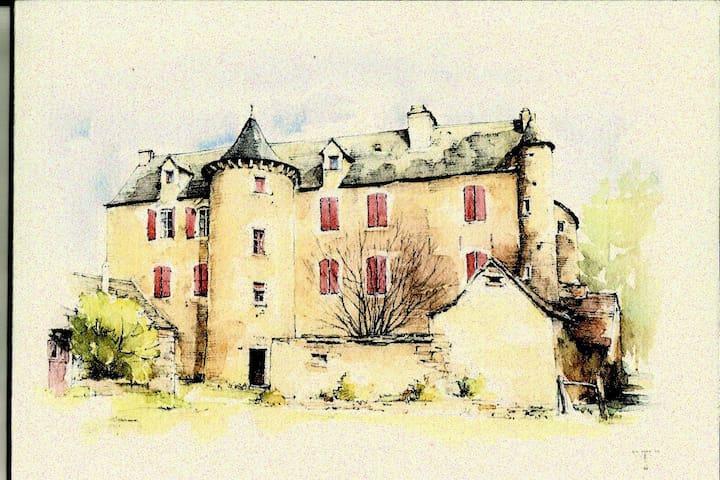CHAMBRE D'HOTES DES  CROUZETS - Baraqueville - Gästehaus