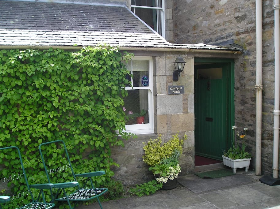 Courtyard and Studio entrance