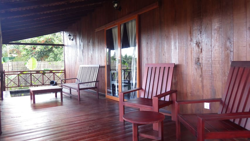 Authentic cosy khmer house with hot tub - Krong Siem Reap - Other