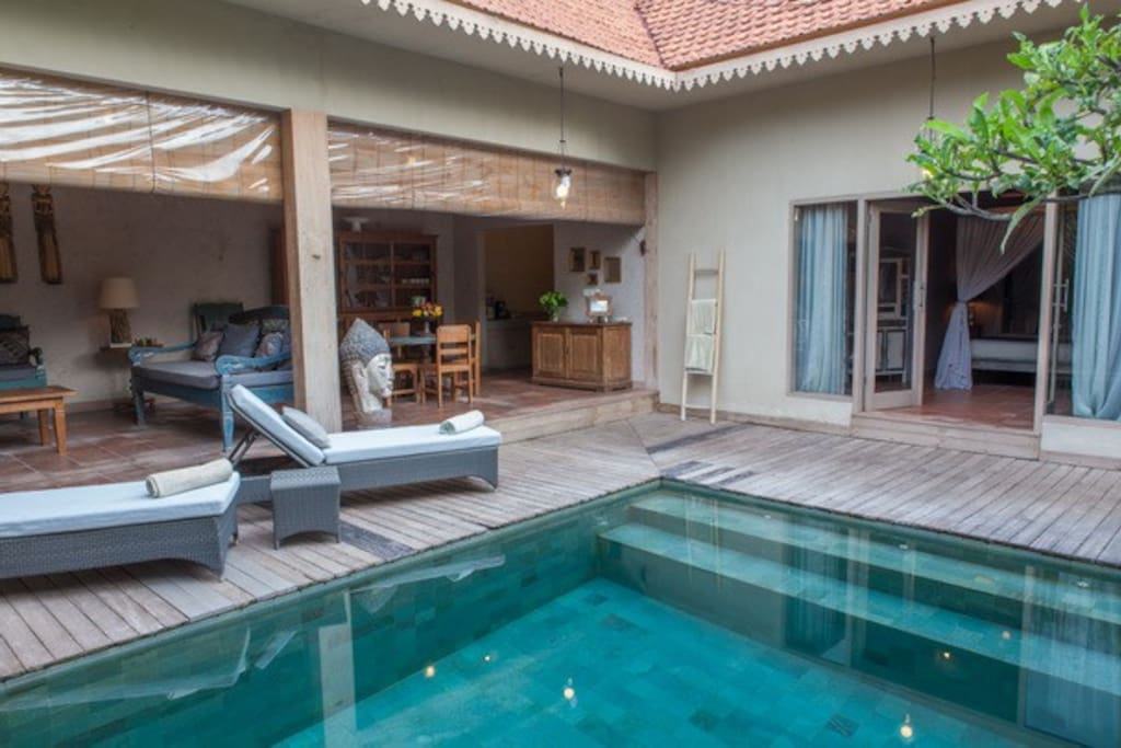 2 Bedrooms Stylish Villa Seminyak Villas For Rent In Kuta Bali Indonesia
