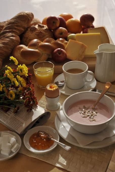 Enjoy our breakfast buffet