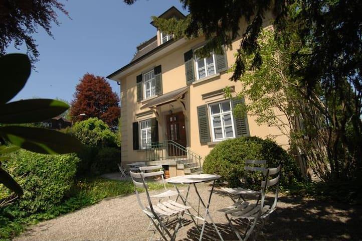Central house, garden, double room