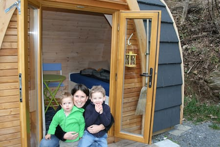 PODhouses – stay in wooden igloo! - Goldingen