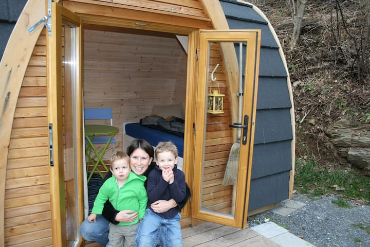 PODhouses – stay in wooden igloo!