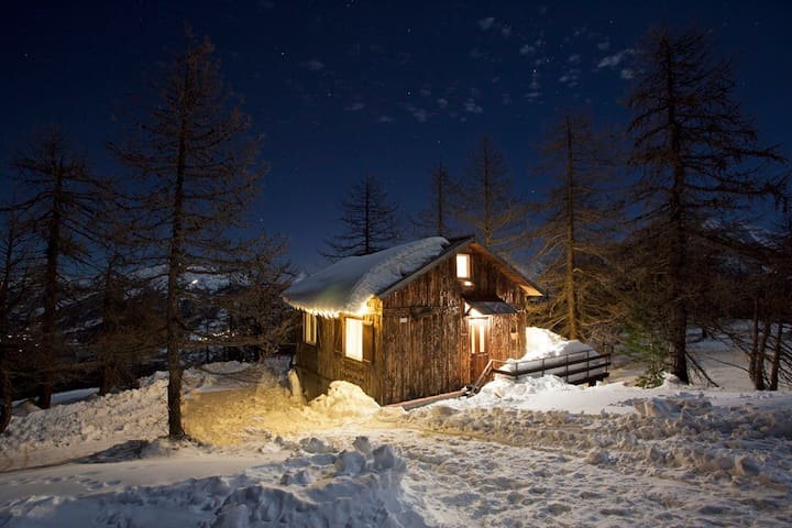 Cozy Chalet @Monti della Luna, the top of the alps - Colle Bercia