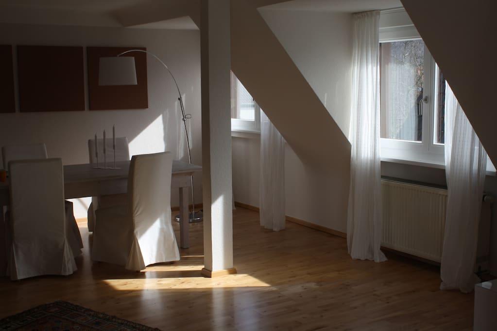 traumwohnung in traumlage lofts zur miete in heidelberg. Black Bedroom Furniture Sets. Home Design Ideas
