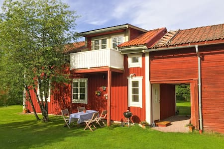 House near lake Siljan and center of Leksand town. - Leksand