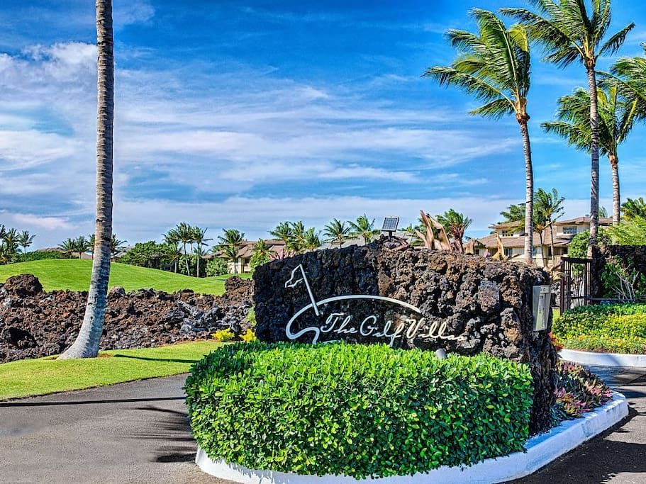 Golf Villa in Mauna Lani Resort, gated community with private beach club access.