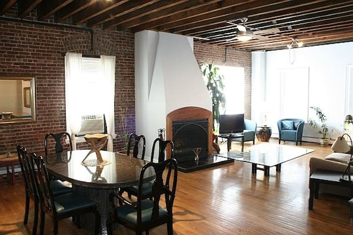 Huge Luxury Loft Share Downtown JC - Jersey City - Loft