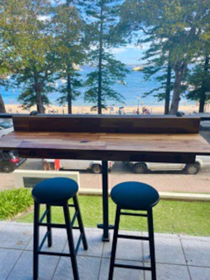 Sunny Modern Manly Beach Front Two Bed Unit Rental