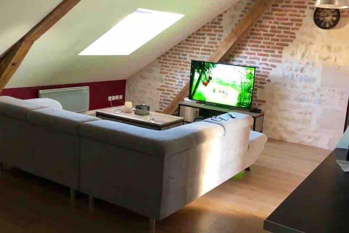 Superbe Appartement de 60 m2 à deux pas du centre