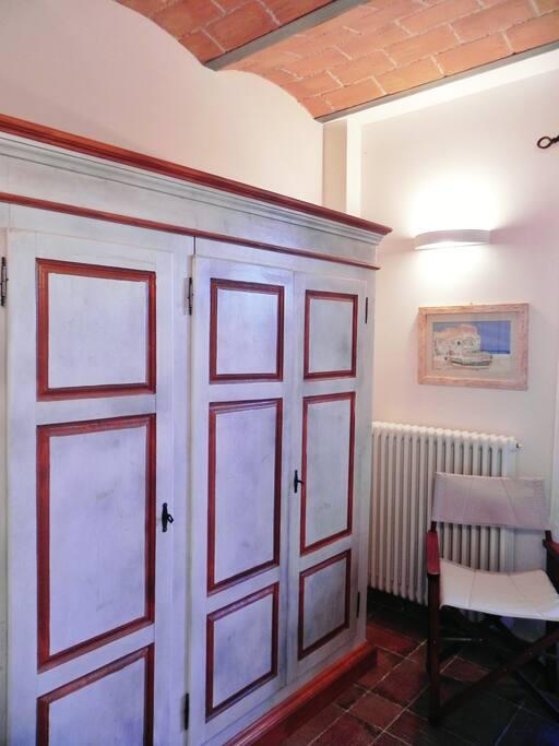 Camera da letto - armadio tipico