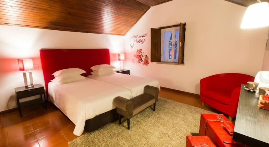 "Villa da Travancinha Hotel Room""Raposa"""