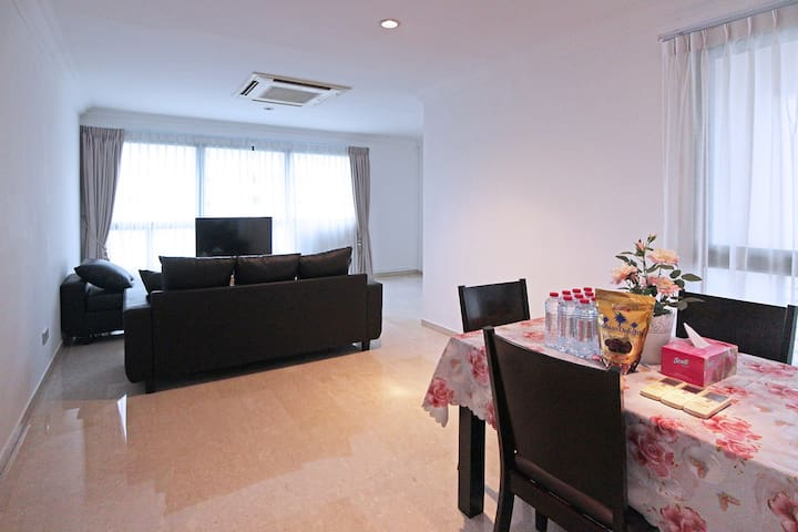 Capacious  Homely 2BR APT in Orchard Area