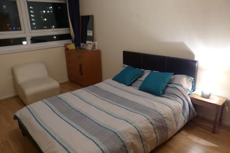 Bright and large flat in the city center - Wigan