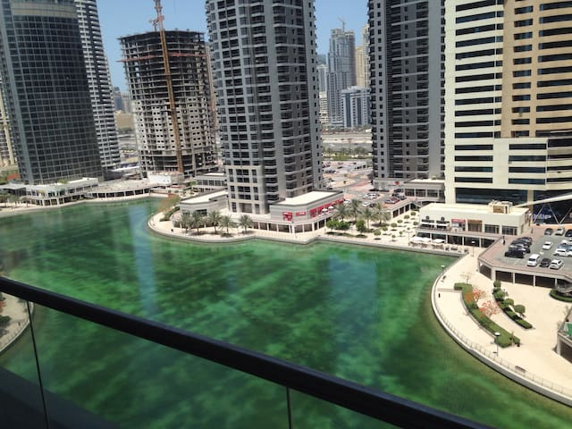 Large studio with rooftop pool + Spa + parking JLT
