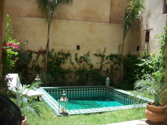 LOVELY MEDINA HOUSE GARDEN & POOL - Fes - House