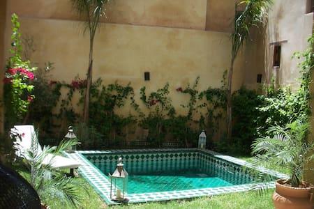 LOVELY MEDINA HOUSE GARDEN & POOL - Fes - Casa