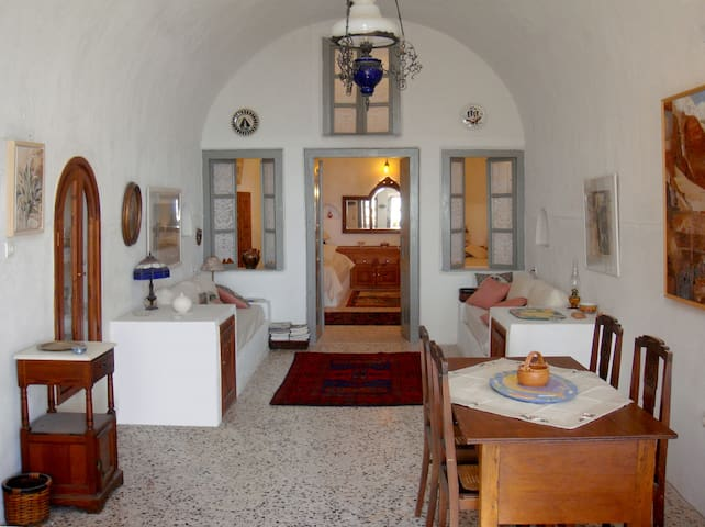 Artist's Traditional 1800's Cave House