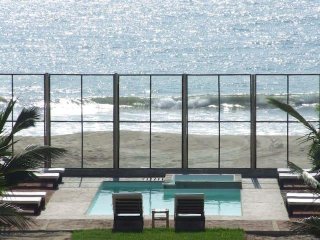 Envero lodge para 6 salida playa - Organos - Casa