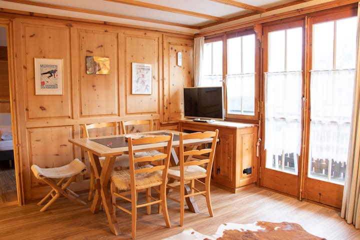 Sunna Hoeckli 3, Cozy rustic apartment