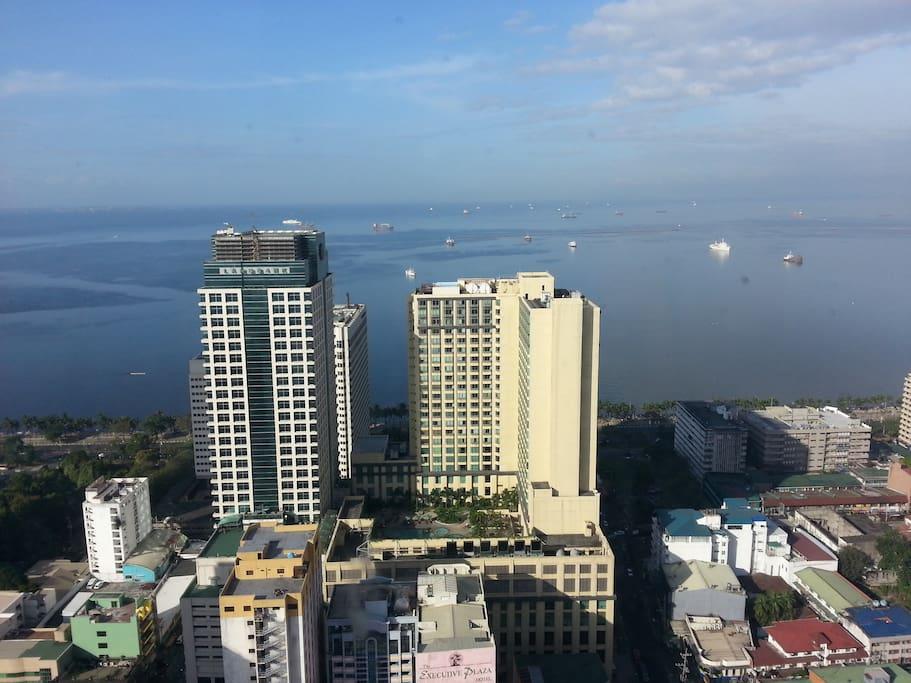 43rd floor condo with breathtaking view