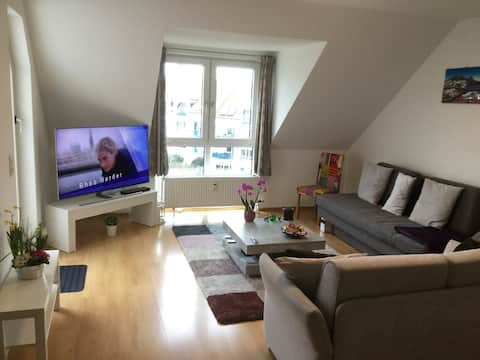 Cosy appartement room connected to Frankfurt city