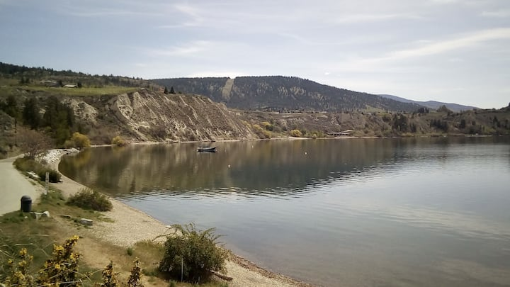 Three Mile Beach on Lake Okanagan