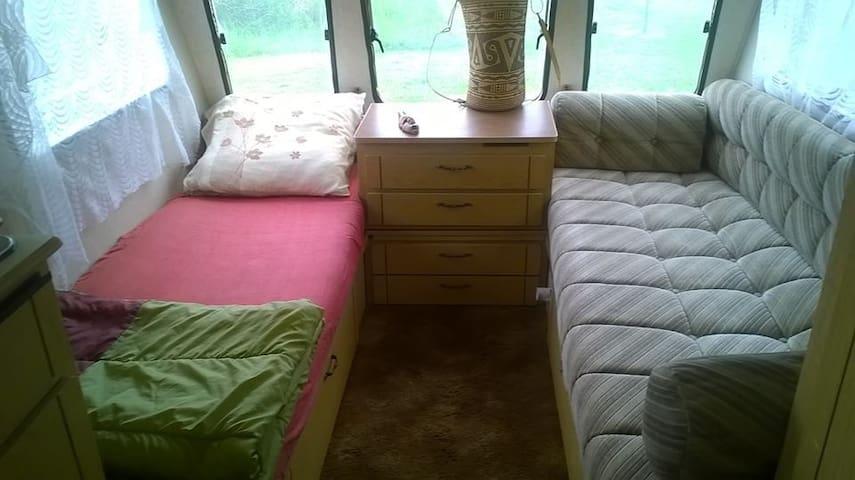 Sofa transformé en couchage - option : 2 x 1 personne