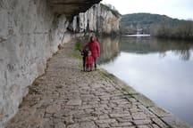 River walk at St Cirq Lapopie
