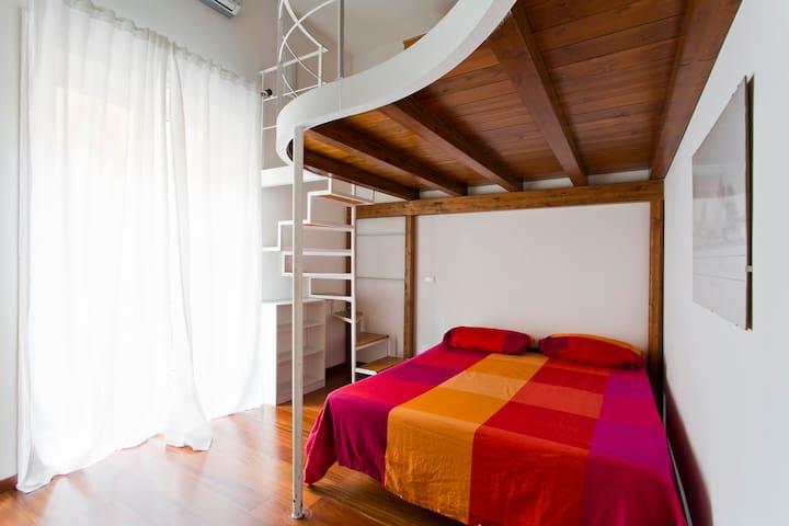 Stanza con bagno privato alla Zisa - Palermo - Apartamento