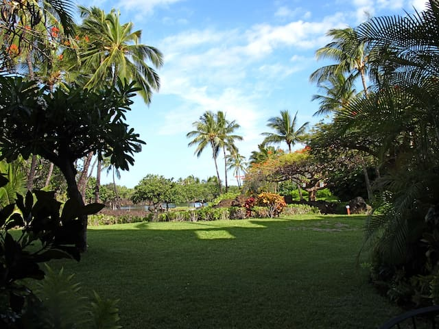 Mauna Lani L102, ground floor condo near the beach