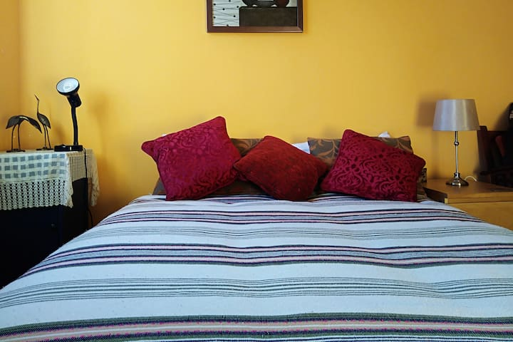 Comfy and Safe Room ideal for one or two guests