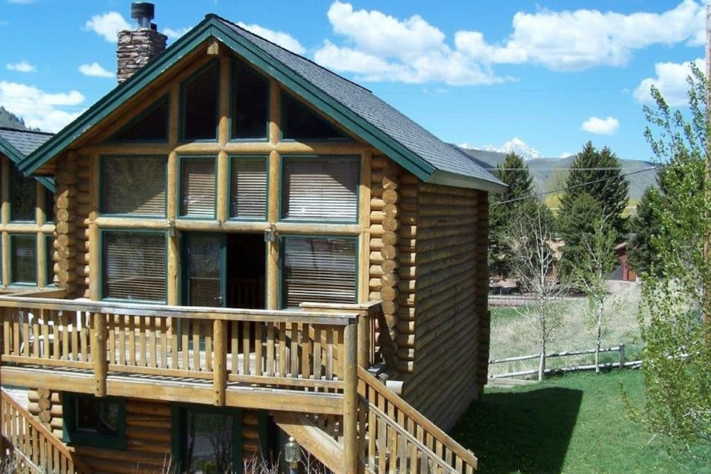 Panoramic townhome in jackson hole case in affitto a for Stazione di jackson hole cabin